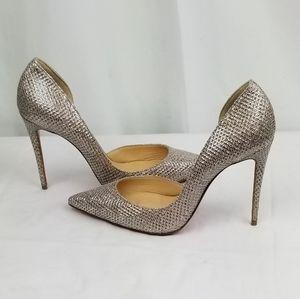 Christian Louboutin  Glitter Heels Plumps Size 39